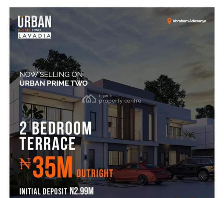 Luxury & Affordable 2 Bedroom Terrace Duplex, Lavadia Court, Abraham Adesanya Estate, Ogombo, Ajah, Lagos, Terraced Duplex for Sale