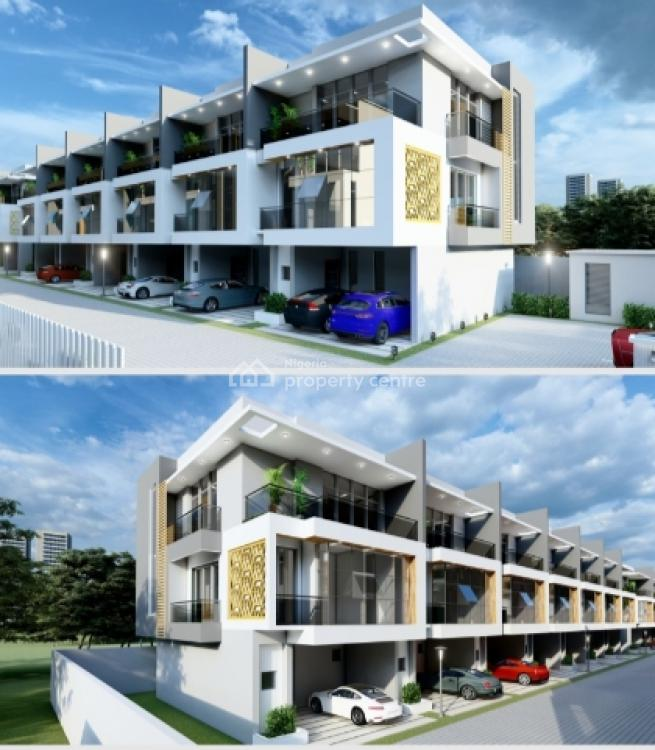 4 Bedroom Duplex (off Plan Model with 5 Year Payment Structure), Ikate Elegushi, Lekki, Lagos, Terraced Duplex for Sale