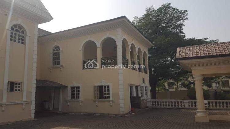 7 Bedrooms. 2 Rooms Guest Chalet. 2 Rooms Bq., Ebitu Kiwe, Jabi, Abuja, Detached Duplex for Sale