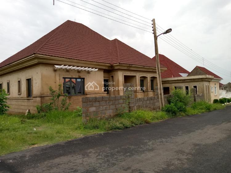 Four Bedroom Bungalow with Underground and Bq Space, Sunshine Estate, Apo, Abuja, Detached Bungalow for Sale