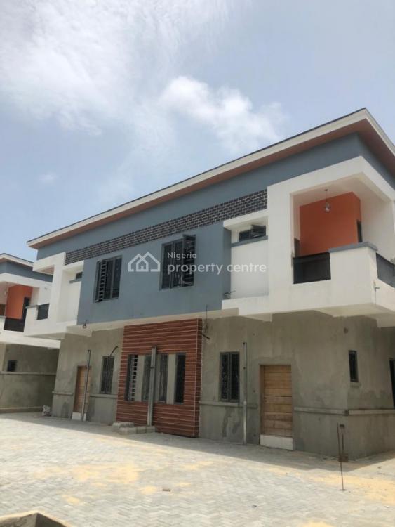 Newly  Built 4 Bedroom  Duplex ( 24 Hours Light), Chevron, Lekki, Lagos, Detached Duplex for Sale
