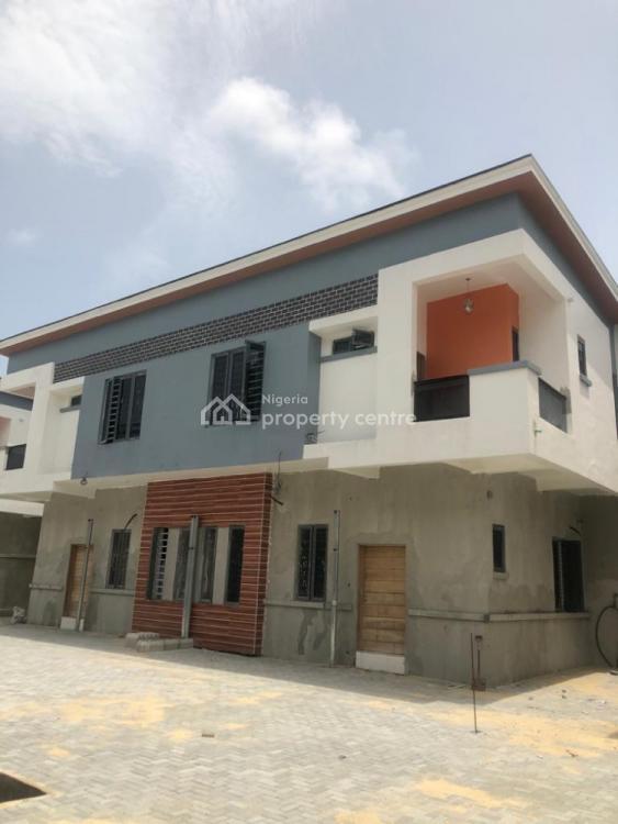 Newly Built  4 Bedroom Duplex ( 24 Hours Light), Chevron, Lekki, Lagos, Semi-detached Duplex for Sale
