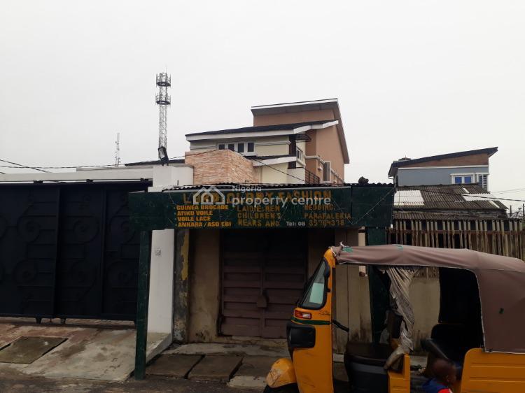 3 Bedroom Detached House + Study Room+ 1room Bq, Off Akerele Extension By Gbaja, Surulere, Lagos, Detached Duplex for Sale