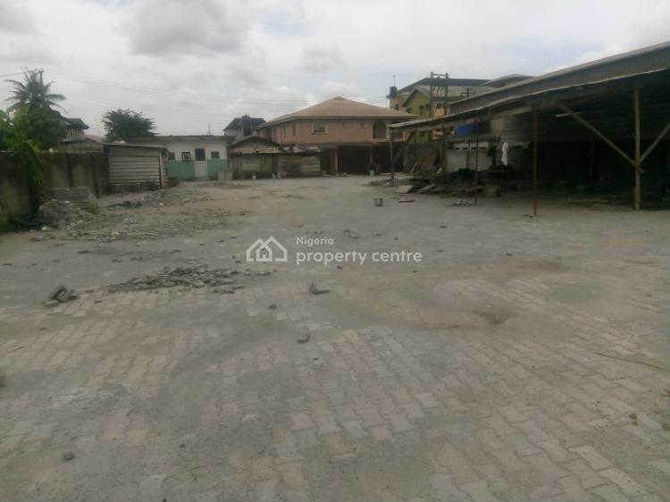 Fenced Plot of Land, Afolabi Estate, Igando, Ikotun, Lagos, Residential Land for Sale