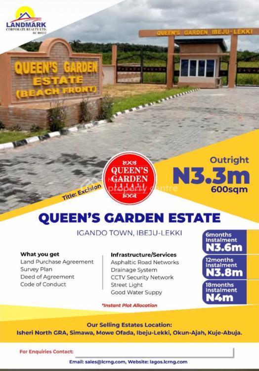 Queen Garden Estate, Ibeju Lekki, Lagos, Land for Sale