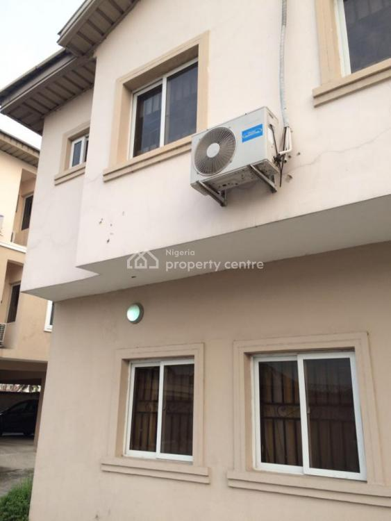 Well Maintained 3 Bedroom Townhouse with a Room Bq, Close to Nicon Town Estate, Ikate Elegushi, Lekki, Lagos, Terraced Duplex for Sale