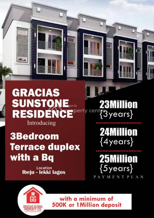 3 Bedroom Apartment, Gracias Sunstone Residence, Ibeju Lekki, Lagos, Flat for Sale