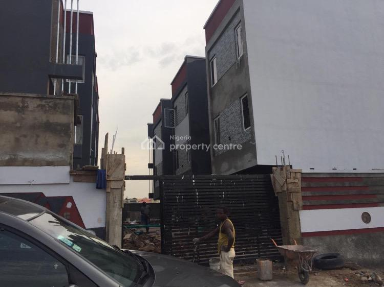 Classy and Newly Built 4 Bedroom Terrace with Flexible Payment, Off Obanikoro, Gbagada Phase 1, Gbagada, Lagos, Terraced Duplex for Sale