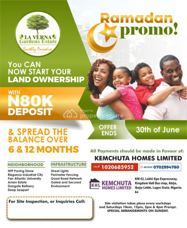 You Can Be a Land Owner, Behind Hfp Paving Stone, Ibare Town., Eleko, Ibeju Lekki, Lagos, Mixed-use Land for Sale
