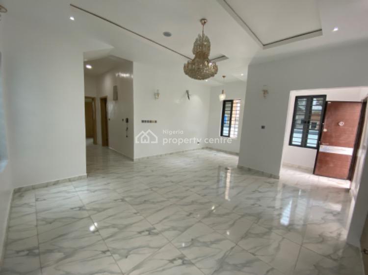 Spacious 4 Bedroom Deatched Duplex with Bq, Chevron, Lekki, Lagos, Detached Duplex for Sale
