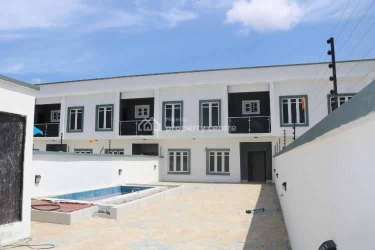 4 Bedroom Terrace Duplex with Private Swimming Pool, Ajah, Lagos, Terraced Duplex for Sale