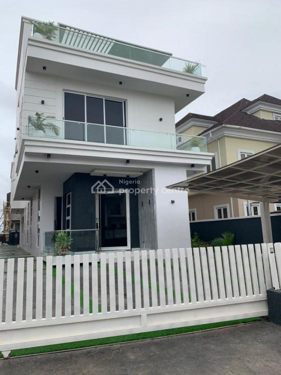 4 Bedroom Detached House with a Maids Room,cinema,swimming Pool, Osapa, Lekki, Lagos, Detached Duplex for Sale