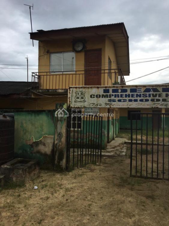 School, No 1, Ideal Close, Off Oshilemo Street, Afromedia, Ajagbandi, Ojo, Lagos, School for Sale