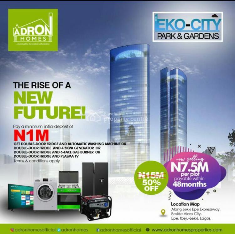 Land, Eko City Park and Garden, Beside Alaro City, Epe, Lagos, Residential Land for Sale