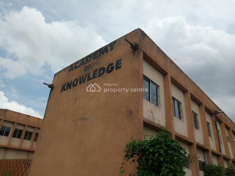 Big School on 2 and Half Acres of Land, New Roundabout, Ojoo, Ibadan, Oyo, School for Sale
