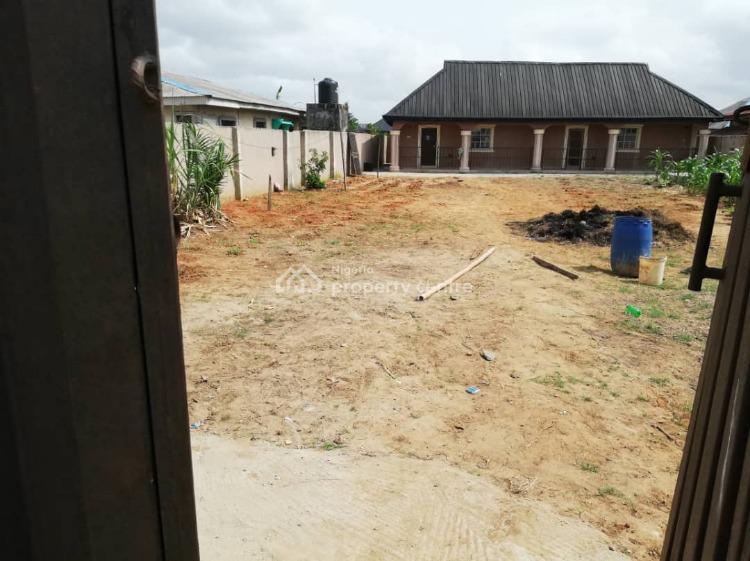2 Mini Flats & 2 Shops Bungalow on Full Plot, Ibiye Bustop, Oko - Agbon, Badagry, Lagos, Detached Bungalow for Sale