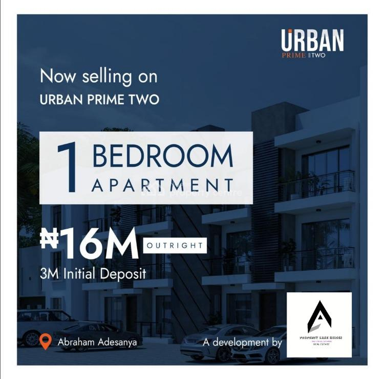 Estate 1 Bedroom Apartments with Governors Consent Title, Abraham Adesanya, Ogombo, Ajah, Lagos, Mini Flat for Sale