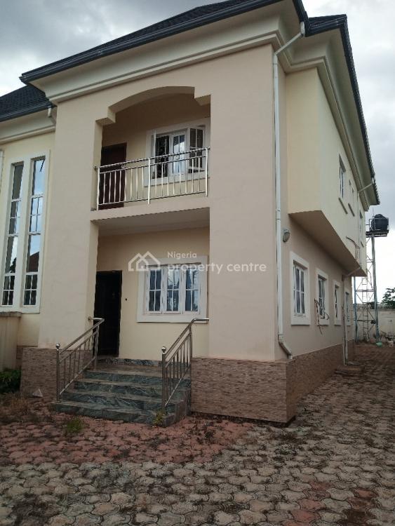 Luxury 4 Bedroom Duplex with Room & Parlor Bq, Independence Layout, Enugu, Enugu, Semi-detached Duplex for Rent