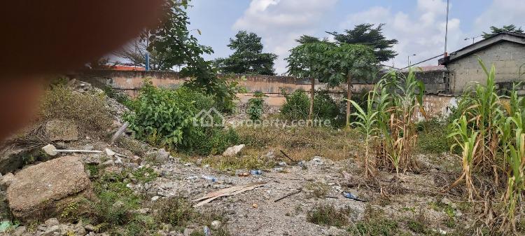 Land Measuring Approximately  600sqm, Razaq Balogun Street, Adeniran Ogunsanya, Surulere, Lagos, Mixed-use Land for Sale