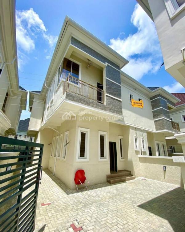 4 Bedrooms Luxuriously Built Semi-detached, Chevron, Ikate Elegushi, Lekki, Lagos, Semi-detached Bungalow for Sale