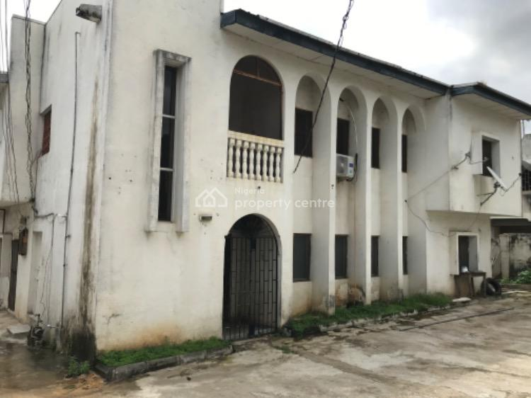 Latent Value: Old Detached House with Ancillary Building, Off Herbert Macaulay Way, Wuse, Abuja, Detached Duplex for Sale