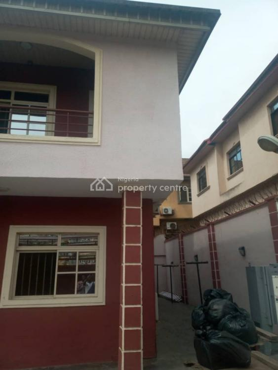 Executive 5 Bedroom Fully Detached Duplex with Bq, Serene Estate College Road, Ogba, Ikeja, Lagos, Detached Duplex for Sale