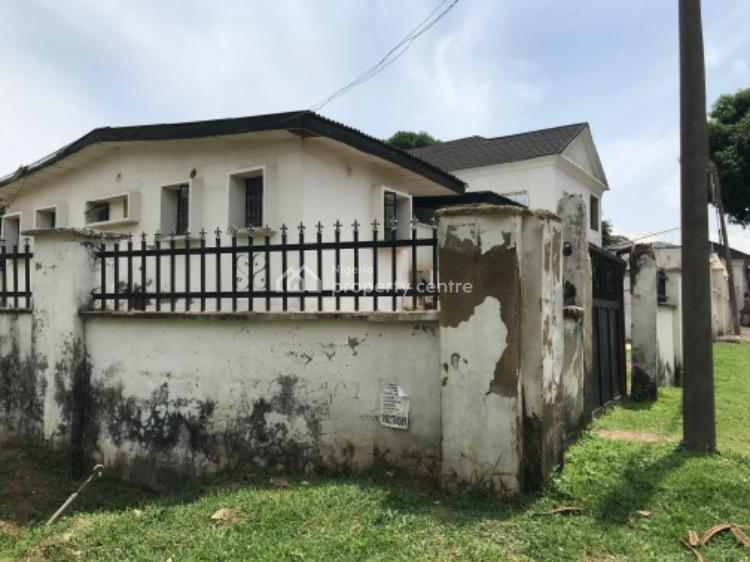 Old Demolishable 3 Bedrooms Bungalow with Large Space, Off Michael Okpara Way, Wuse, Abuja, Semi-detached Bungalow for Sale