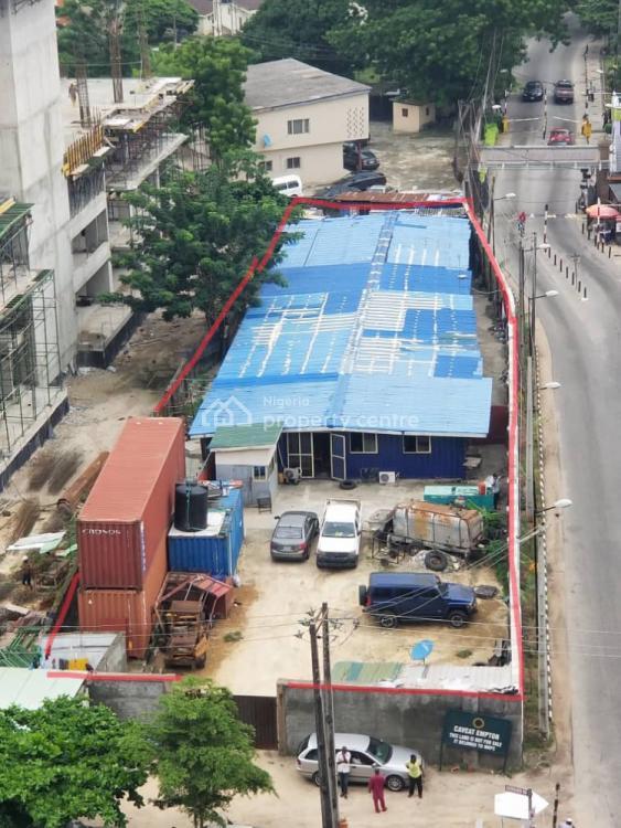 Parcel of Land Measuring 1100sqm, Along Parkview Estate Gate, Parkview, Ikoyi, Lagos, Commercial Land for Sale