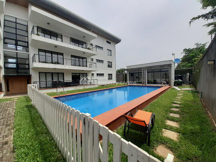 Well Built 3 Bedroom Apartment with Bq, Banana Island, Ikoyi, Lagos, Flat for Rent