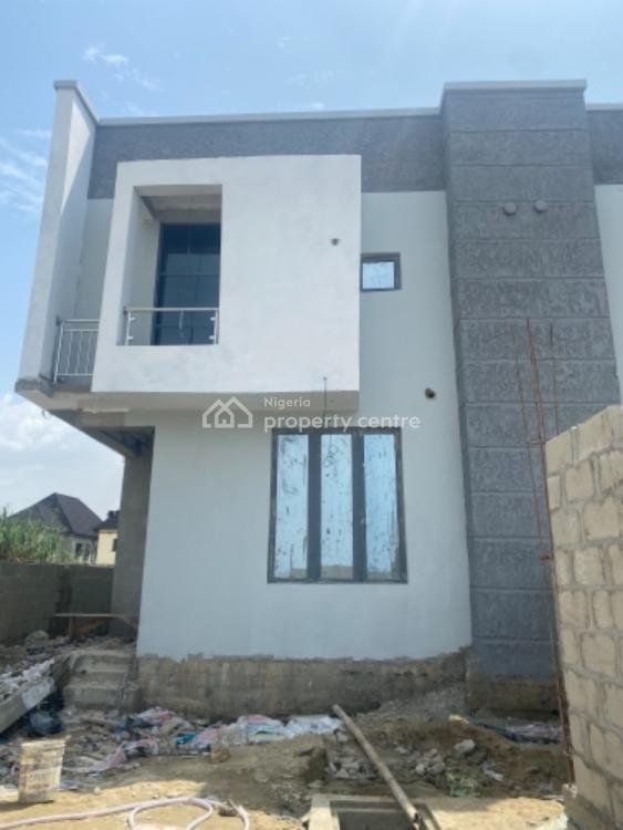 4 Bedroom Semi Detached Duplex with Bq, Ebuluofor Lakeway Crescent, Lekki Palm City Estate, Ado, Ajah, Lagos, Semi-detached Duplex for Sale