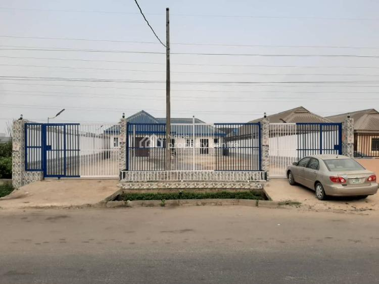 Newly Built 5 Bedroom Set Back Office Space Bungalow Can Take 18 Cars, Babs Animashaun Street, Ogunlana, Surulere, Lagos, Commercial Property for Sale