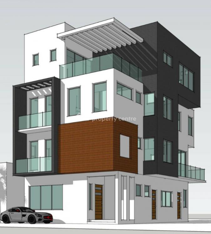 New Magnificent (waterfront) 5 Bedrooms House with Elevator on 1060sqm, Foreshore Estate, Banana Island, Ikoyi, Lagos, Detached Duplex for Sale
