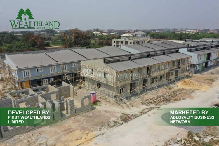Wealthland Green Estate Installmental Payment, Oribanwa, By Davinchi Lekki-ajah., Oribanwa, Ibeju Lekki, Lagos, Terraced Duplex for Sale