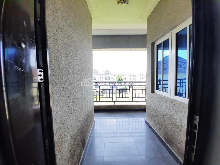 Beautiful 3 Bedroom Flat (upstairs) in a Block of 6 Units, Off Eletu Street, Osapa, Lekki, Lagos, Flat for Rent