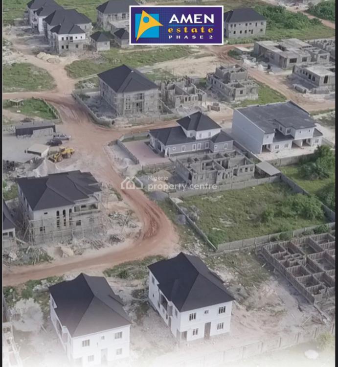 Land Promo: Deposit 20% and Balance in 12 Months, Amen Estate Ph 2, Eleko, Ibeju Lekki, Lagos, Residential Land for Sale