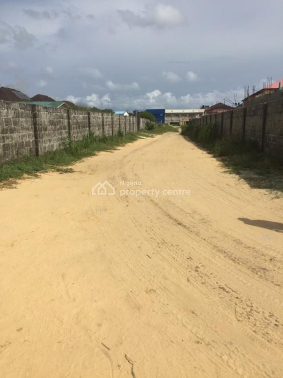 Lovely Dry Land Upland in a Built Area, Plot 11 Parkwood Estate, Ajah, Lagos, Mixed-use Land for Sale