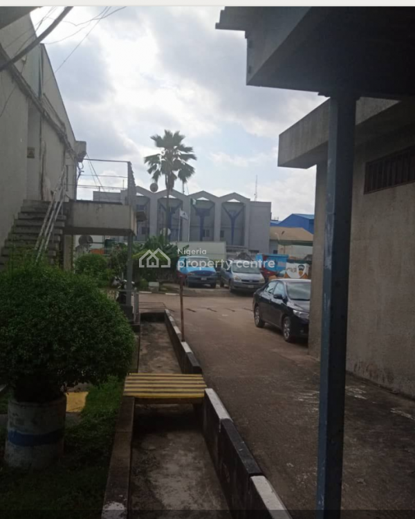 Warehouses with Administrative Building Sitting on 3 Acres, Avenue, Oba Akran, Ikeja, Lagos, Warehouse for Sale