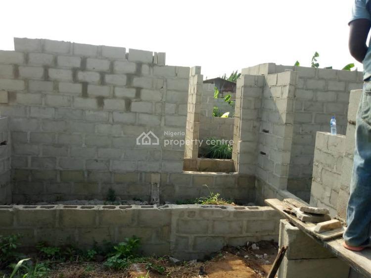 Uncompleted 3 Bedroom Bungalow, Agunfoye, Igbogbo, Ikorodu, Lagos, Detached Bungalow for Sale