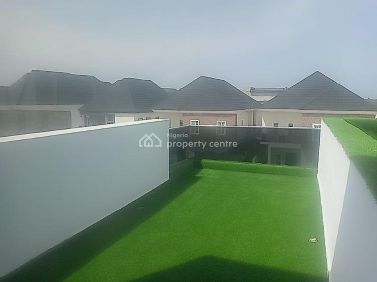 Four Bedroom Water Front Duplex with Swimming Pool and a Pent House, Megamound Estate, Ikota, Lekki, Lagos, Detached Duplex for Sale