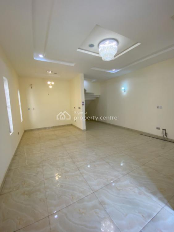 Luxury 4 Bedroom Semi Detcahed with Bq ,solar N Inverter, Opposite Chevron, Ologolo, Lekki, Lagos, Semi-detached Duplex for Sale