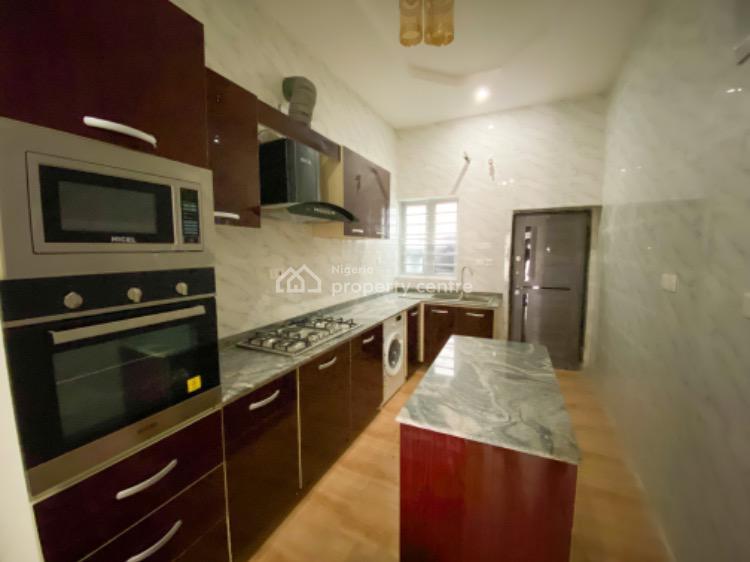 Luxury 4 Bedroom Semi Detached Duplex with Bq , Stamped Concrete Floor, Chevron, Lekki Phase 2, Lekki, Lagos, Semi-detached Duplex for Sale