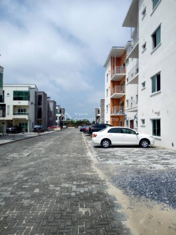 Spacious Newly Built 3 Bedroom Apartment, Chevron Alternative Route, Idado, Lekki, Lagos, Block of Flats for Sale
