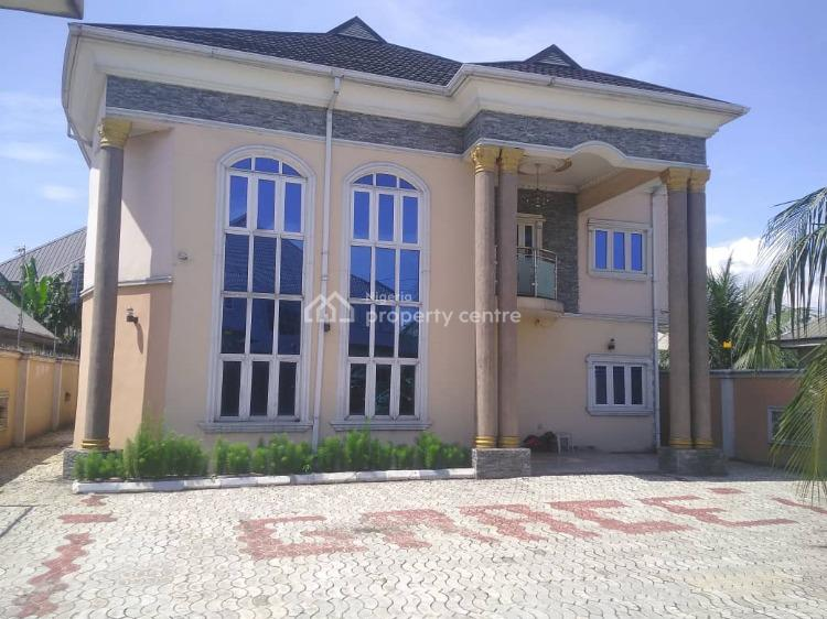 Brand New and Excellently Finished 4 Bedrooms Detached Duplex, Akpajo, Off Eleme Road, Port Harcourt, Rivers, Detached Duplex for Sale
