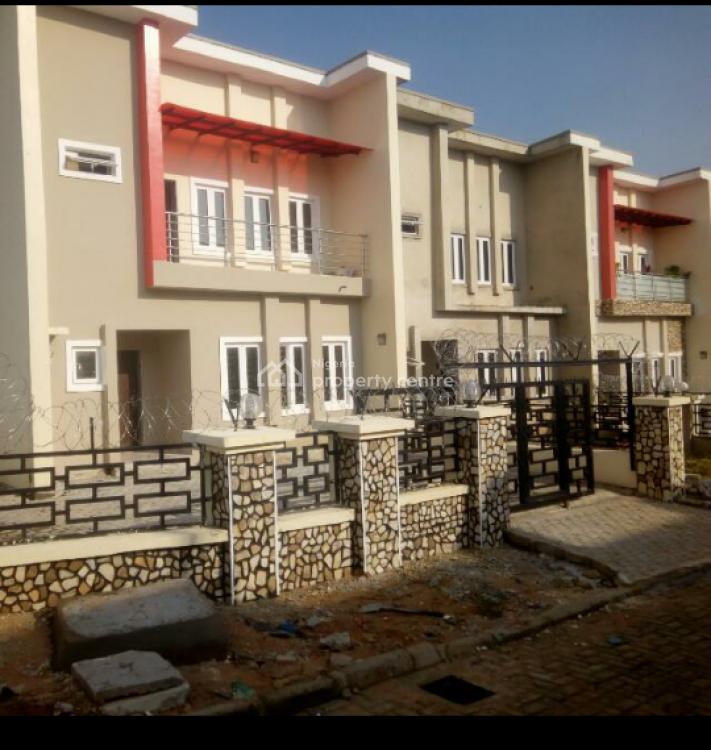 4 Bedroom Terraced Duplex Carcass in a Serene Estate, Airport Road, Kyami, Abuja, Terraced Duplex for Sale