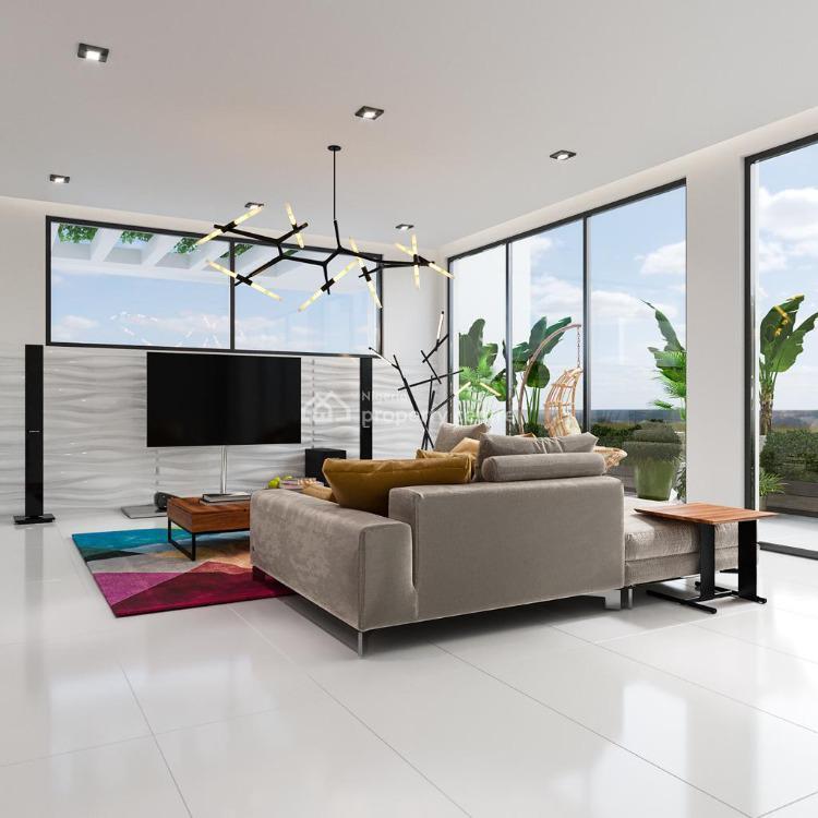 Luxury 4 Bedroom Condos with 2 Room Boysquarters, Probyn Road, Falomo, Ikoyi, Lagos, Terraced Duplex for Sale