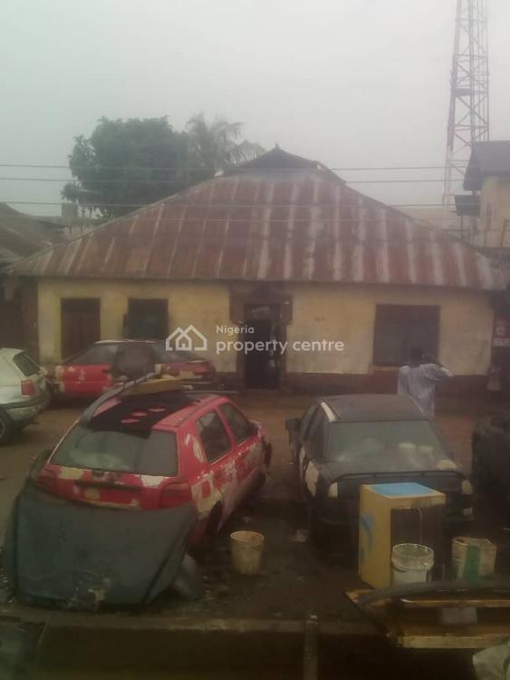 Tenement Bungalow, Railway Line, Close to Olateju Street, Palmgrove, Ilupeju, Lagos, Detached Bungalow for Sale