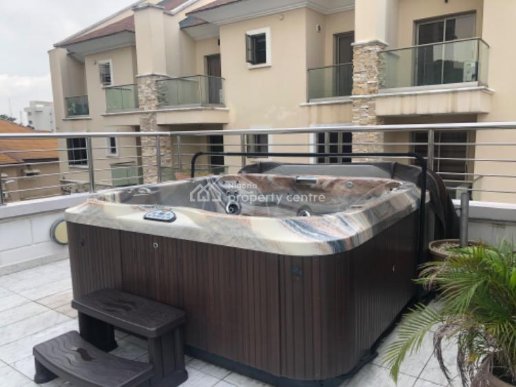 Luxurious 4 Bedroom Terrace Duplex with Fitted Kitchen and Bq, Off Bourdillon Road, Old Ikoyi, Ikoyi, Lagos, Terraced Duplex for Sale