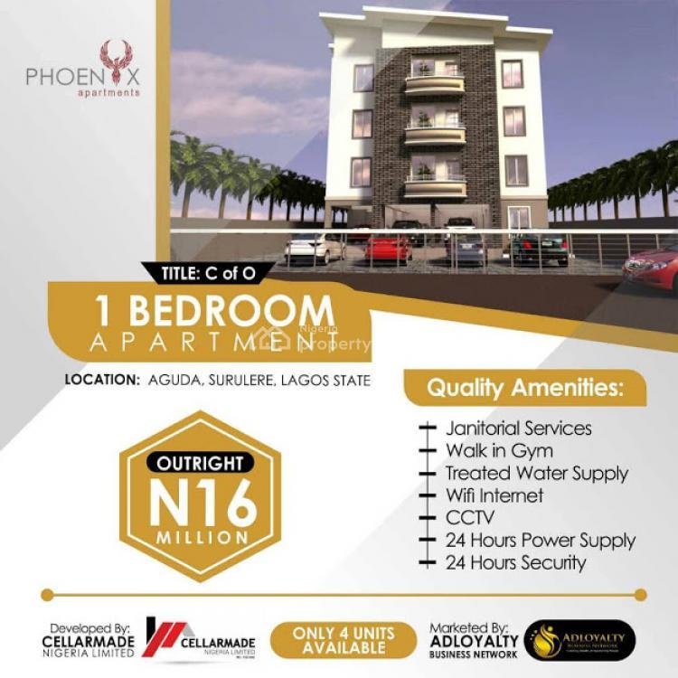 3 Bedroom Apartment, 34, Bolaji Banwo Street., Aguda, Surulere, Lagos, Flat / Apartment for Sale