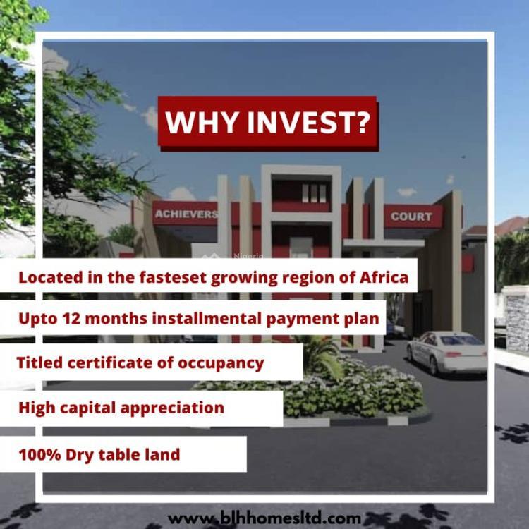 Land with C of O, Achievers Court Estate, Free Trade Zone, Osoroko, Ibeju Lekki, Lagos, Mixed-use Land for Sale