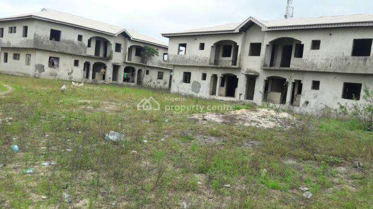 4 Blocks of 2 Bedrooms Uncompleted Flat Each Totalling 16 Flats (c of O), Lagbansa, Ajah, Lagos, Block of Flats for Sale